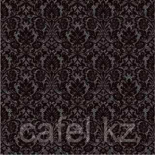 Кафель | Плитка для пола 40х40 Органза | Organza черный 5 П