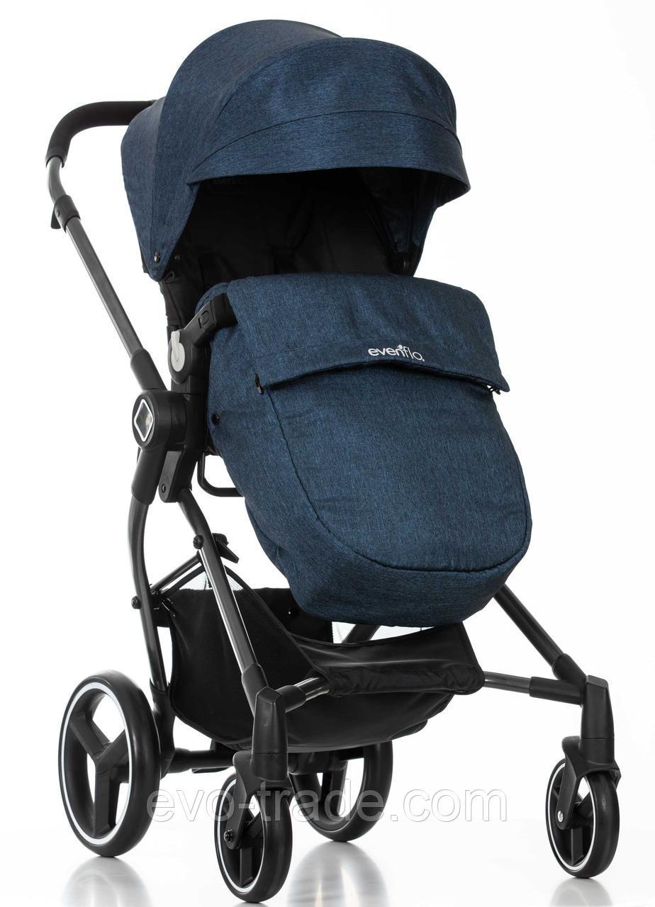 Прогулочная коляска Evenflo  Nuveu Синяя