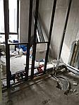 Монтаж инсталляции с усилением, разводка холодной/горячей воды, фото 3
