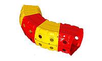 Детский игровой Тоннель Doloni красно/желтый