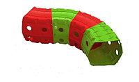 Детский игровой Тоннель Doloni красно/зеленый