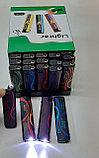 Зажигалка Турбо фонарь пьеза  Сигареты,машинки,разные №827 (4 вида), фото 2