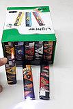 Зажигалка Турбо фонарь пьеза  Сигареты,машинки,разные №827 (4 вида), фото 3