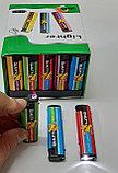 Зажигалка Турбо фонарь пьеза  Сигареты,машинки,разные №827 (4 вида), фото 4