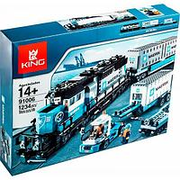 Конструктор Аналог лего Lego Creator 10219 King 91006 Lepin 21006 Товарный поезд Майорск