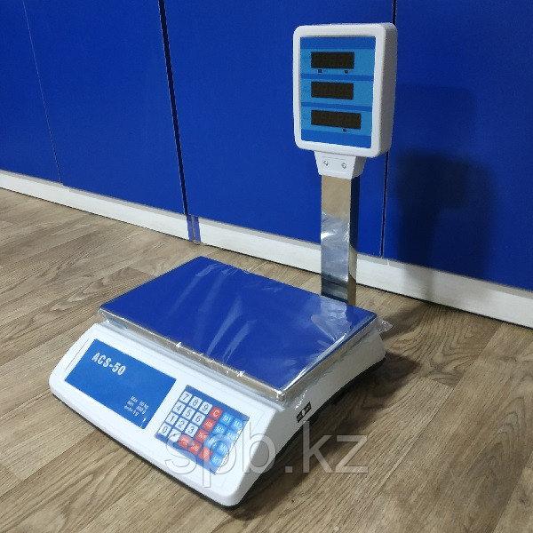 Настольные торговые электронные весы ACS-50 кг