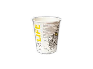 Стакан бумажный для горячих/ холодных напитков  Big City Life 250 мл (8 OZ / D80) (50/1000)