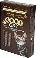 Творог, сметана, мультивитаминное лакомство Good Cat