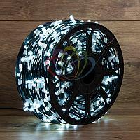 """Уличная LED гирлянда """"Клип-лайт"""" - 100 метров, 660 лампочек, белый свет, постоянное свечение"""