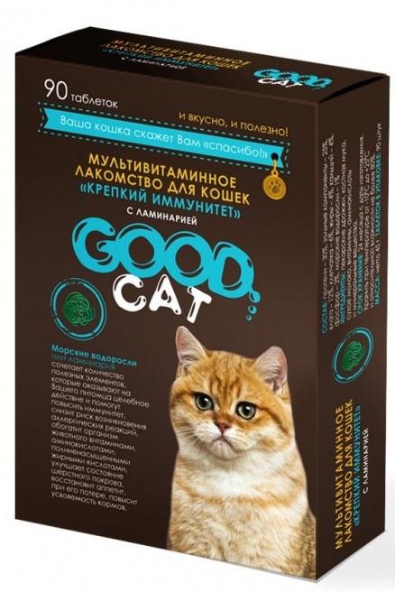Крепкий иммунитет, мультивитаминное лакомство Good Cat