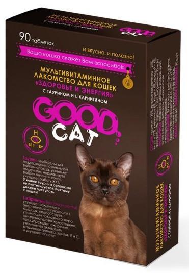 Здоровье и энергия, мультивитаминное лакомство Good Cat