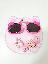 Набор детский очки и заколки