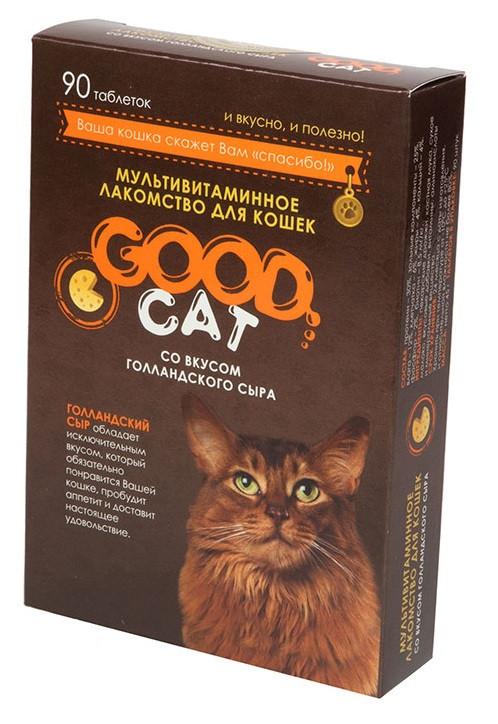Голландский сыр, мультивитаминное лакомство Good Cat