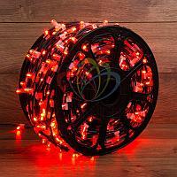 """Уличная светодиодная гирлянда """"Клип-лайт"""" - 100 метров, 660 лампочек, красный свет, постоянное свечение"""