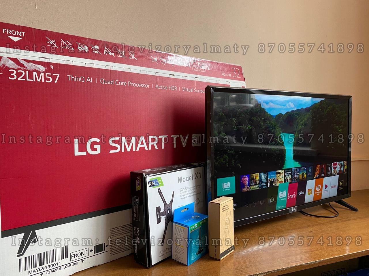 Телевизор LED TV LG Smart tv 32 диагональ 32LM570BPLA - фото 2