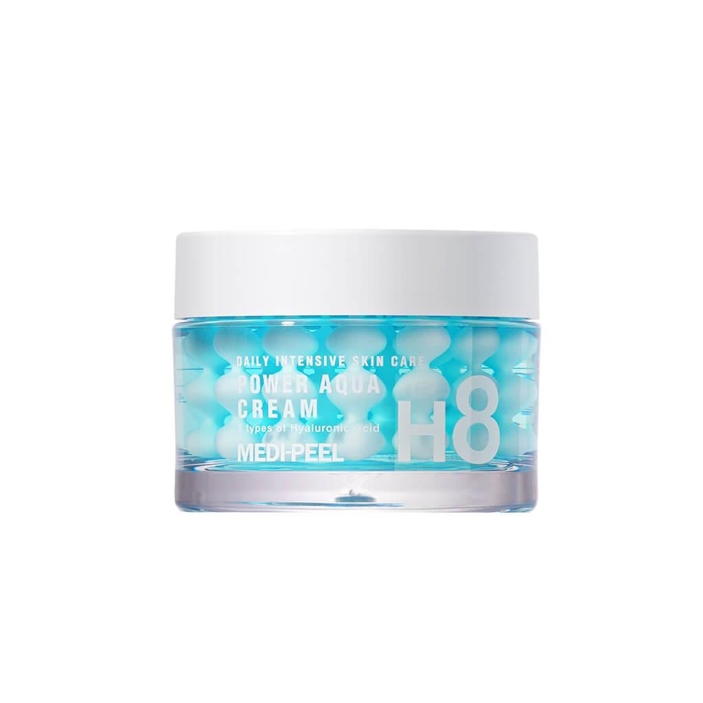Medi-Peel Крем с пептидными капсулами для лица Power Aqua Cream H8 / 50 мл.