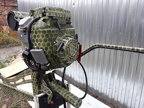 Подвесной лодочный мотор-болотоход MRS-24 HP, фото 2