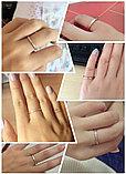 """Кольцо обручальное """"Алмазный песок 2"""" 2 мм, фото 5"""