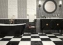 Кафель   Плитка настенная 28х40 Помпей   Pompei 1 Т черный, фото 4