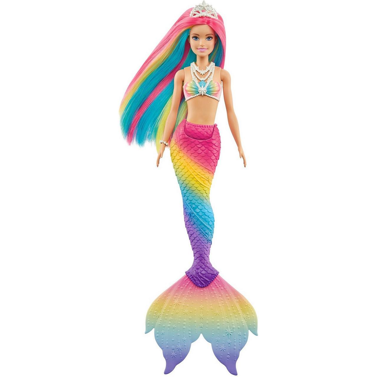 "Barbie ""Дримтопия"" Кукла Барби Русалка, меняющая цвет"