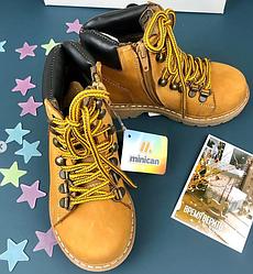 Ботинки тимбы бренд Minican Турция Коричневый, 27