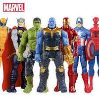 Герои Marvel (Халк, Spider, Та...