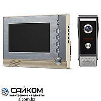 Видеодомофон V80P-M4, ЖК-монитор 7 дюймов, 25 мелодий для выбора
