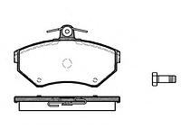Тормозные колодки REMSA 631.00-AF