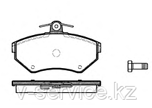 Тормозные колодки REMSA   631.10-AF