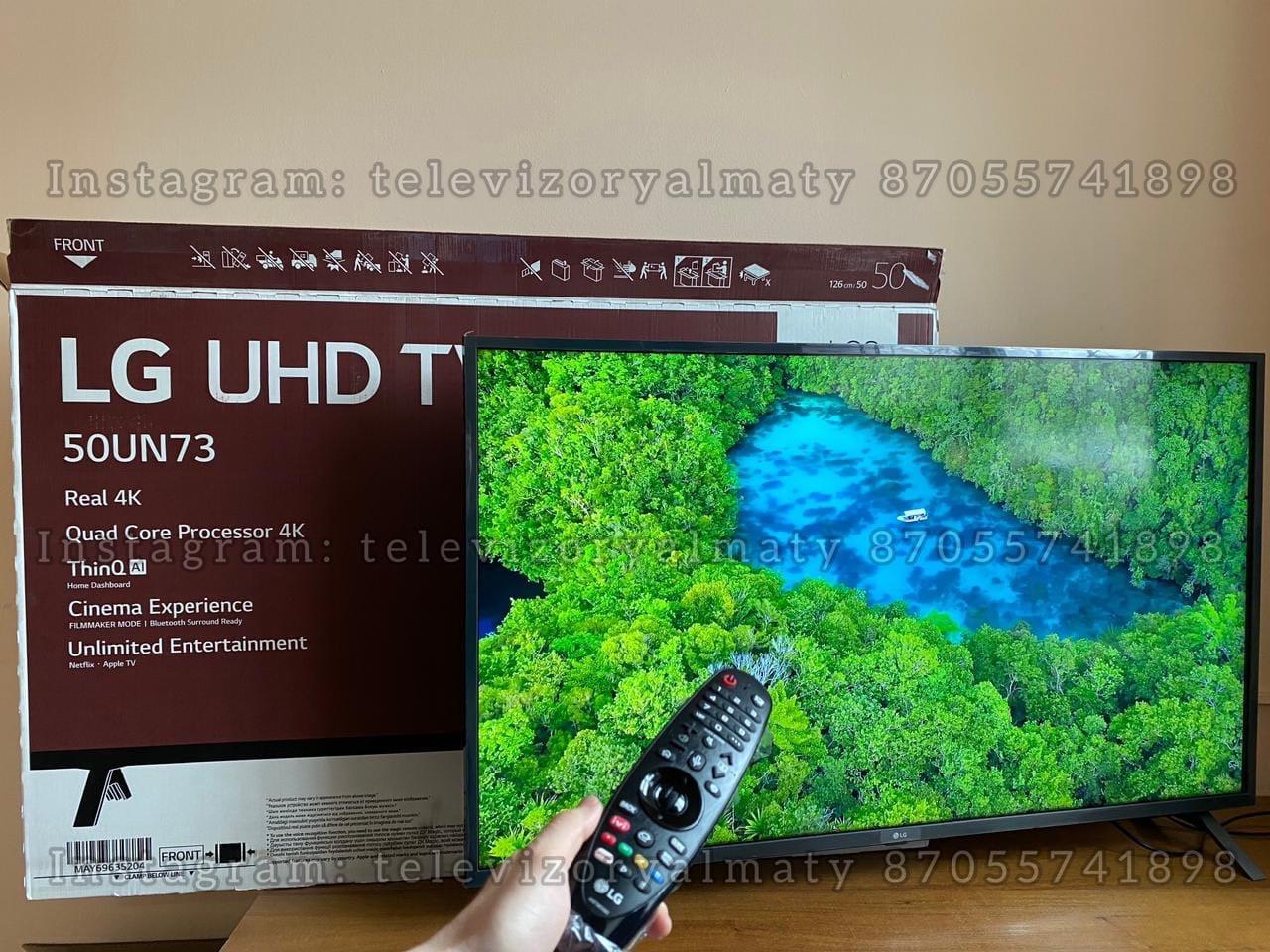 Телевизор LED UED TV LG Smart tv 50 диагональ 50UN73506LB - фото 2