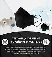 Маски-респираторы KF94-FFP2 медицинская (черная)