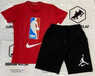 Баскетбольный спортивный костюм NBA  , шорты, футболка, фото 2