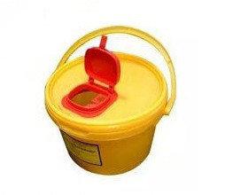 Контейнер для сбора острого инструментария 6 литров, фото 2