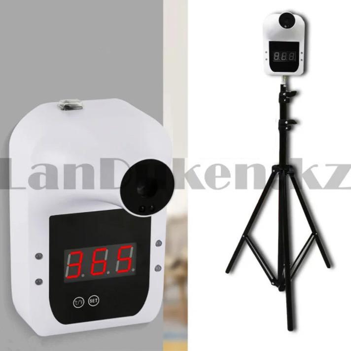 Бесконтактный инфракрасный стационарный термометр с ЖК-дисплеем Gp-100 белый - фото 1
