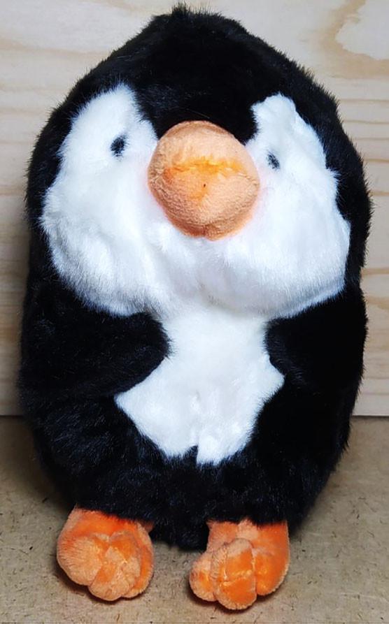 Пингвиненок черно белый 20см