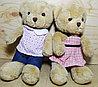 Мишка коричневый костюмчик мальчик и девочка 28 см