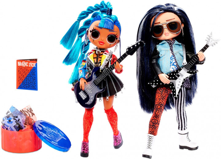 LOL OMG Remix Игровой набор с двумя куклами ЛОЛ Ремикс ОМГ Музыкальный дуэт