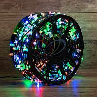"""Уличная светодиодная гирлянда """"Клип-лайт"""" - 100 метров, 660 лампочек, разноцветная, постоянное свечение"""
