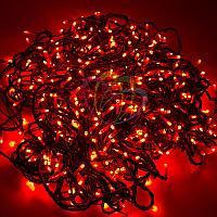"""LED гирлянда """"Клип-лайт спайдер"""" - 3 нити по 20 метров, 399 лампочек, красный свет, свечение с динамикой"""