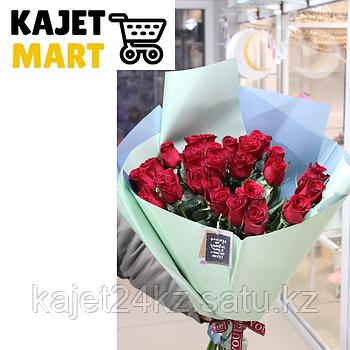 Букет 25 метровых роз