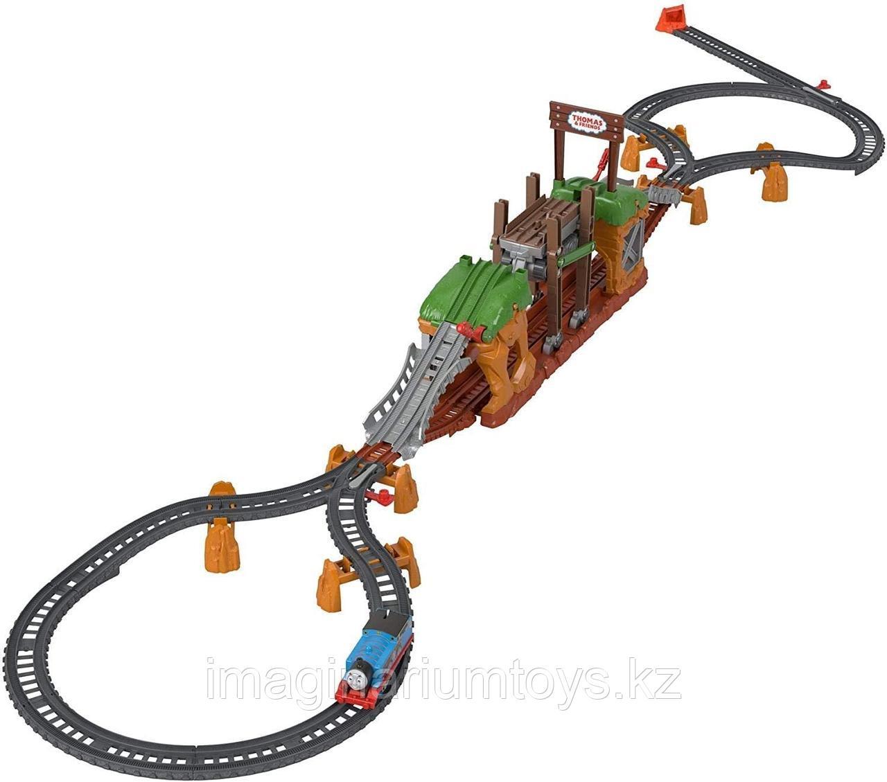 Детская железная дорога Томас «Мост с переправой» Track Master