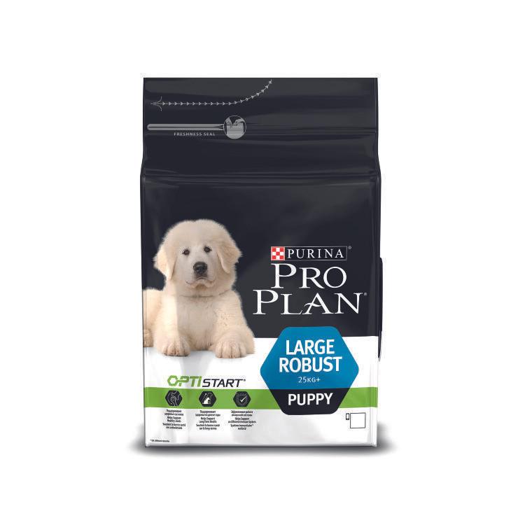 Pro Plan Large Robust Puppy с курицей и рисом, уп.3 кг