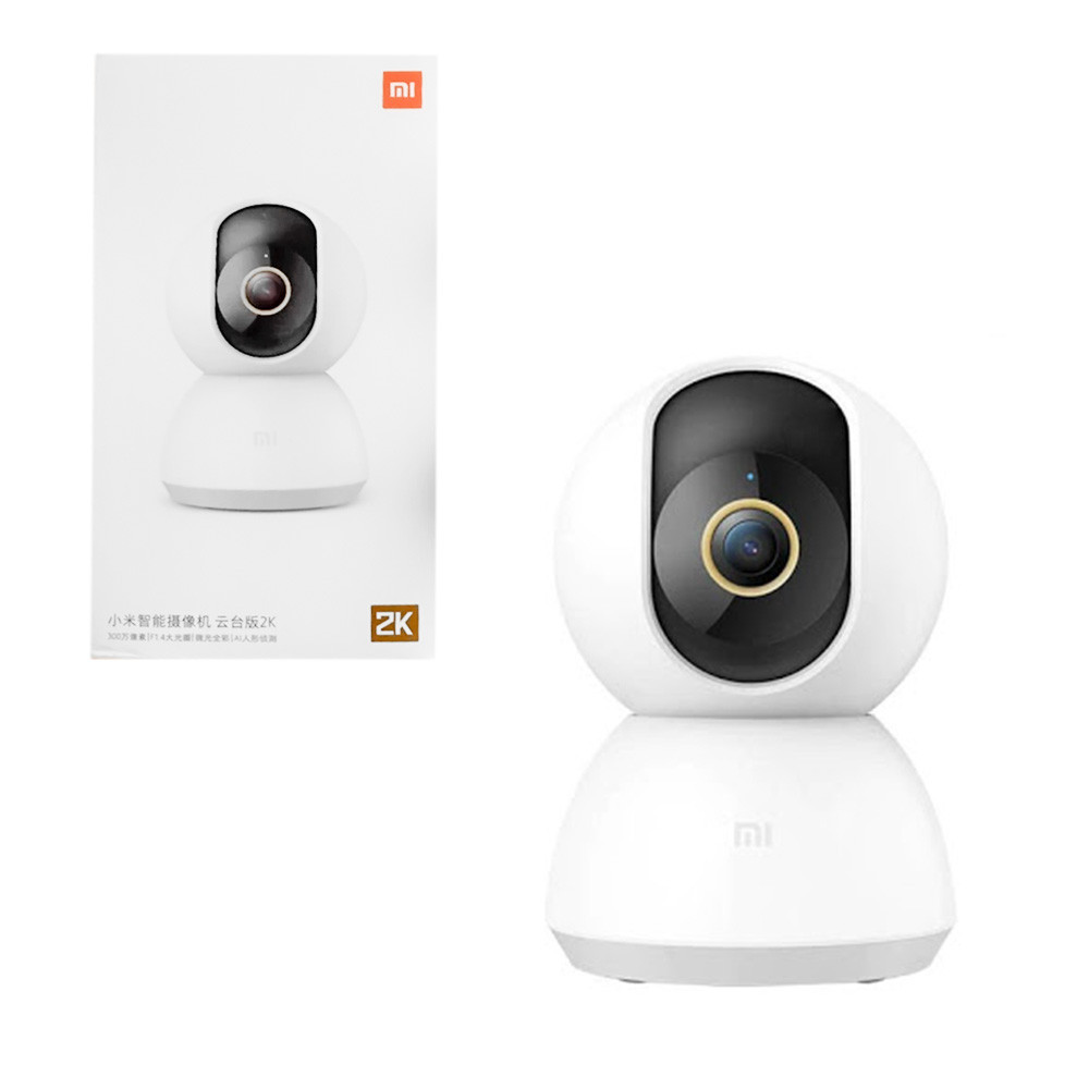 Цифровая камера видеонаблюдения Xiaomi Mijia 360° Home Camera PTZ Version 2K (MJSXJ09CM), White
