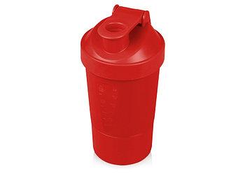 Шейкер для спортивного питания Level Up, красный