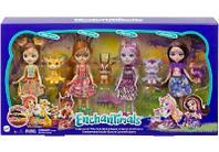 Набор Enchantimals Друзья в Солнечной Саванне куклы + фигурки GYN57
