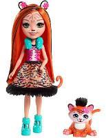 Кукла Enchantimals Тензи Тигра и тигренок Тафт FRH39