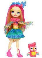 Кукла Enchantimals Пики Какаду и попугай Шини FJJ21