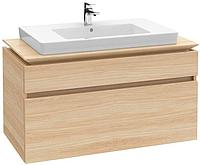 Мебель в комплекте с раковиной (вяз импрессо) 1000х550х500 мм B225 00 PN Villeroy&Boch