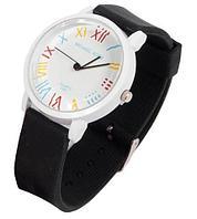 Часы наручные реплика Michael Kors MK-2491 на силиконовом ремешке (Черный)