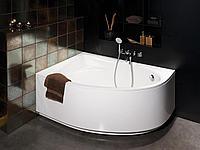 Ванна угловая в комплекте с высокой панелью левая 1700х1000 мм Tre Grande VATREGRK00PATREGRA PAA